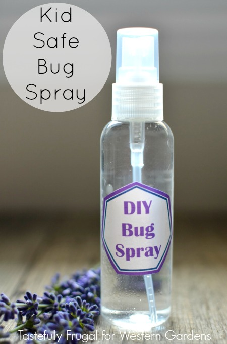 DIY Kid Safe Bug Spray: Make your own bug spray at home in minutes and with just 4 ingredients!