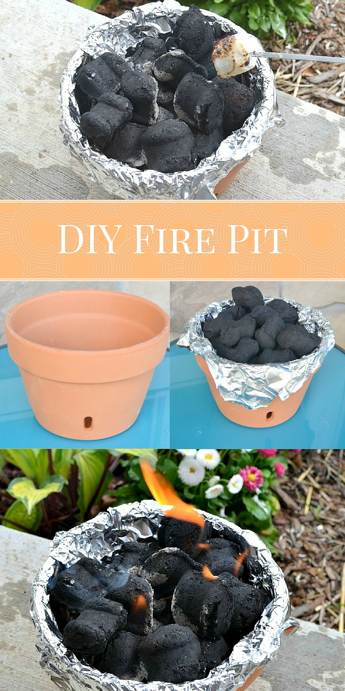 DIY Fire Pit: Make Your Own Campfire At Home For Less Than $5 | Western Gardens