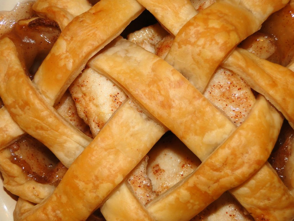 apple pie lattice top
