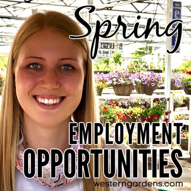 work at western gardens utah garden center employment opportunity